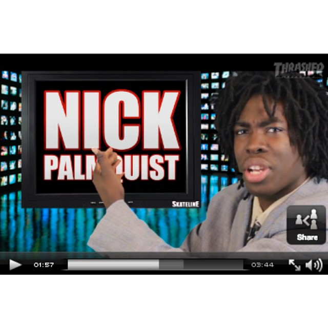 @gcode_tb4l giving shoutouts to our rider @nickpalmquist on this weeks skateline