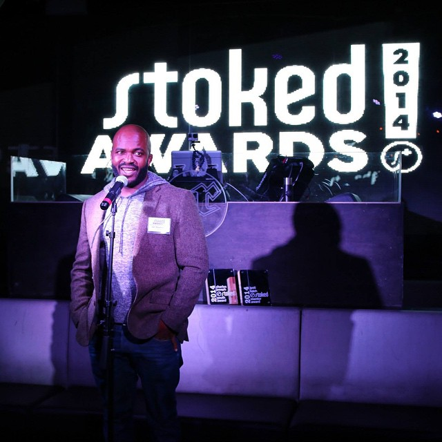 Thanks to those who came and supported our #stokedawards2014 - one our best nights ever! Shout out to cofounder @salmasekela for the amazing hosting duties. More photos to come.