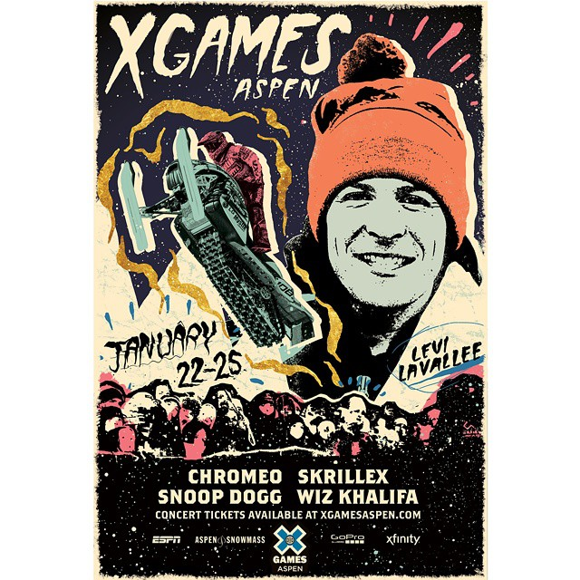 #XGames Aspen is only 50 days away!