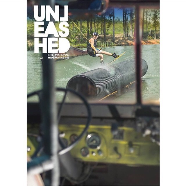 @ignorejondickey just landed the cover of @unleashedwakemag!! And the party is on!