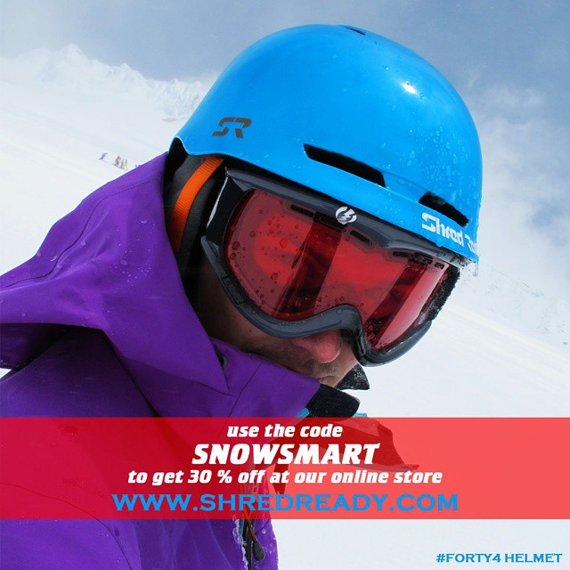 We wanted to remind you to stay #snowsmart this winter by giving you 30% off our eleven and Forty4 snow helmets.  Use the code SNOWSMART before check out in your cart on our online store. #discount #sale #deal