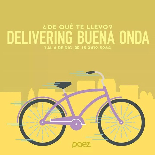 Sigue #DeliveringBuenaOnda