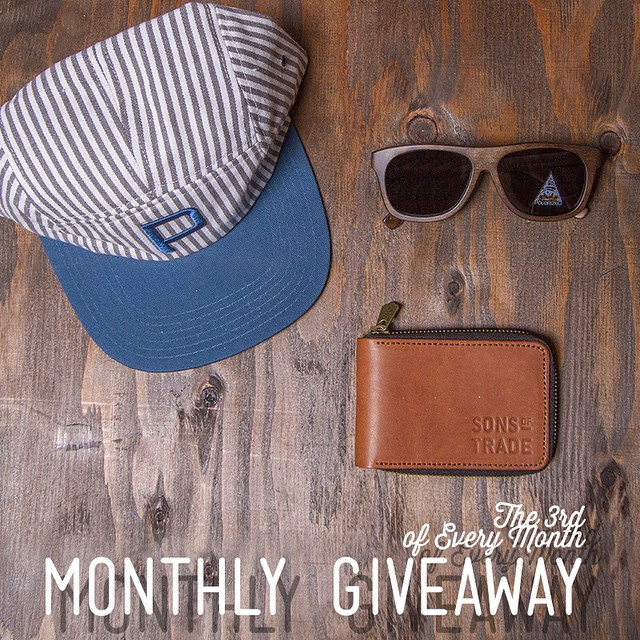 """Explore. See. Do. Bring the Flint Wallet along for the ride. The classic billfold in genuine full-grain leather for the traveling gentleman."" We teamed up with @sonsoftrade for our Monthly Instagram Giveaway!  To be entered in to win: ↠ Post a photo..."