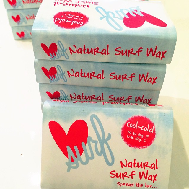 Spread the luv with our new all natural surf wax!