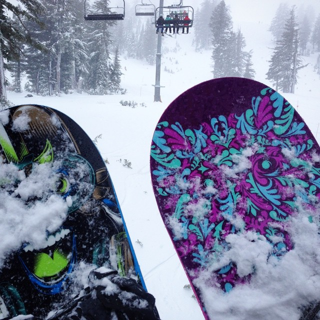 #ilovesnow #thriving #squawvalley #snowboarding #thrivesnowboards