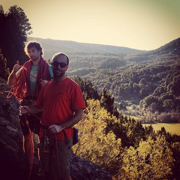 #escalada #sanmartindelosandes @maxiartoni el Joaco Paul