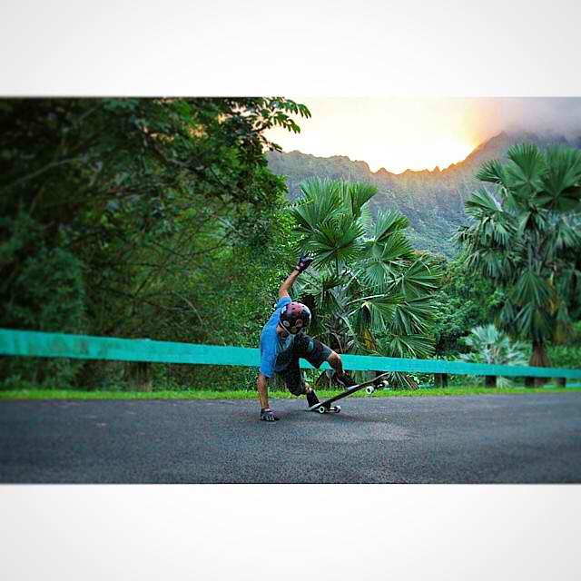 @nebulas_nakanelua hand down at sundown! #hawaiistyles #calibertrucks
