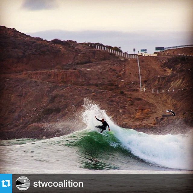 Help our friends @stwcoalition and @surfing4change keep the wild...wild! Defending waves is easier than restoring them. #SaveSanMiguel Take 25sec to sign the petition at savethewaves.org