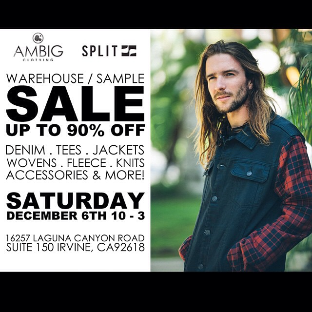 This Saturday we'll be having a sample sale!! Come by and get some great deals!! #ambigclothing