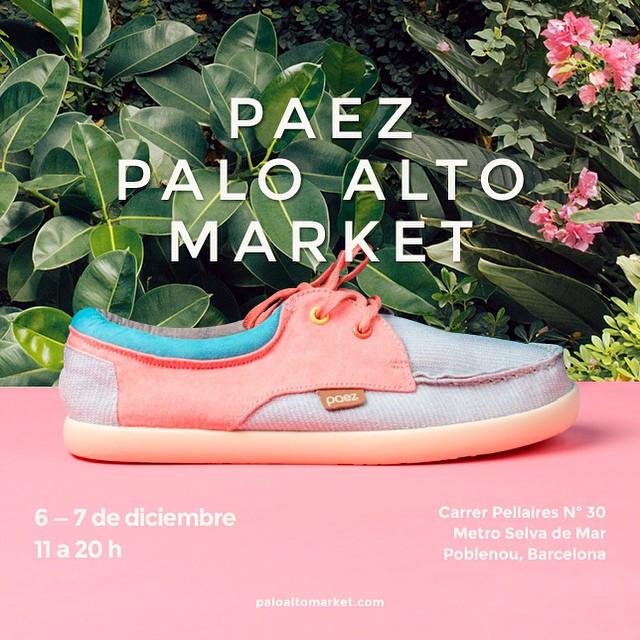 Este finde nos vemos en #paloaltomarket !  Música, streetfood, diseño y marcas molonas