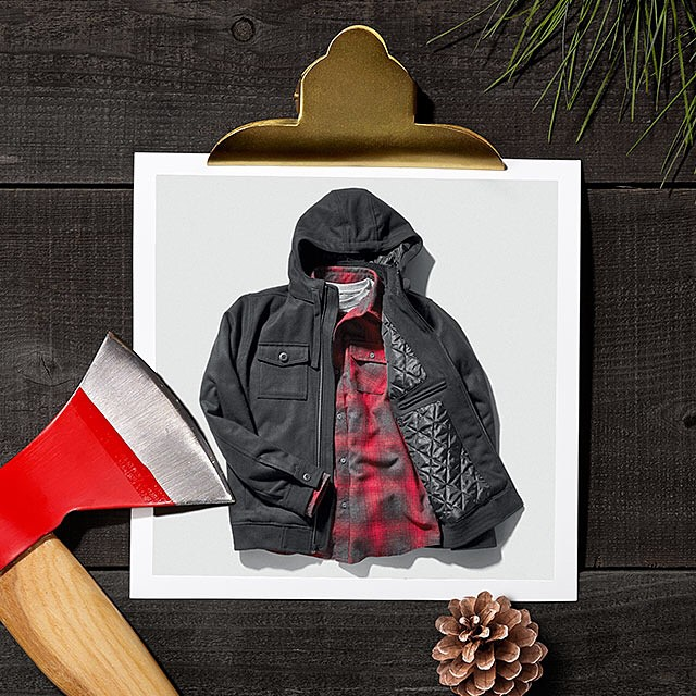 Layer it on.  The Captain Quilted Jacket, featured in the Nixon Holiday Gift Guide. Get gifting with Free shipping and returns now on nixon.com. #nixonholidaygiftguide #nixon