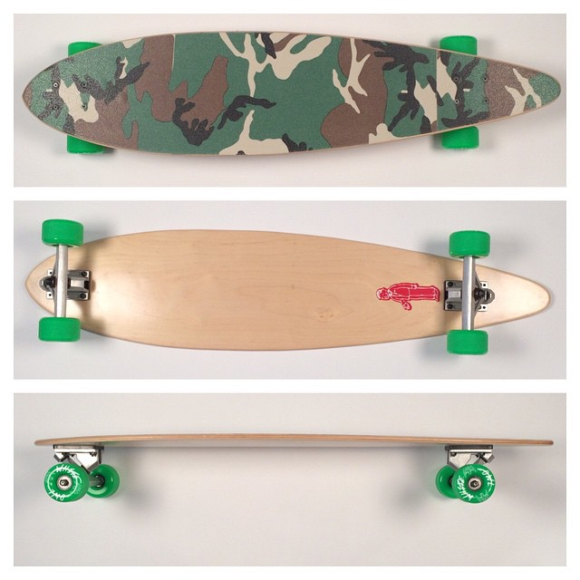 #santaclaus will be bringing some lucky kid this fine #pintail #longboard this year! What a #lucky boy. #itpaystobegood #thankyouskateboarding #longboards #longboarding #skatelife #cruise #concretewave #love
