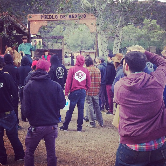 Riders meeting #rumbleattheranch  Max gettin the shot as usual