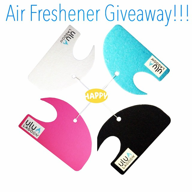 Tag three friends in our comment section for a chance to win three #free air fresheners. We're also giving 10% off internet purchases to all our loyal instagram followers. Use discount code: ulu10 at www.uluLAGOON.com. (Expires 1/1/15) Happy holidays...