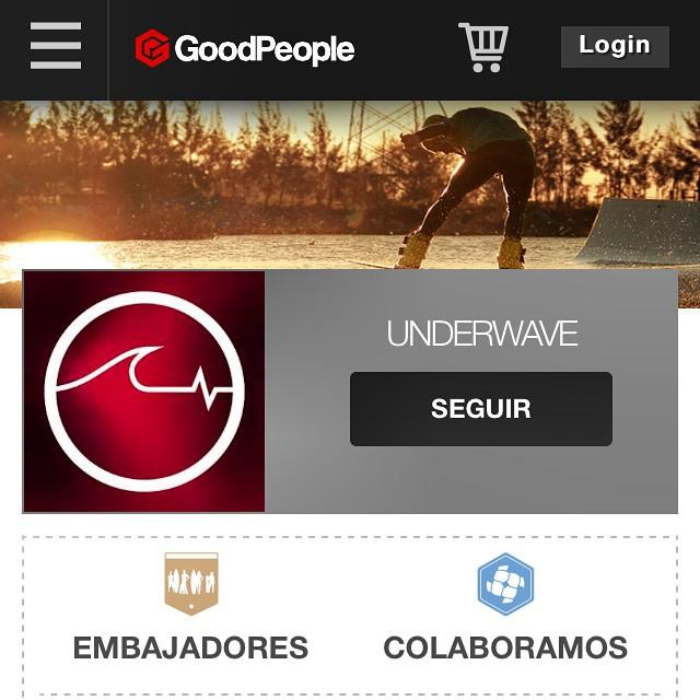 Día a día más grandes, ya somos parte de la comunidad @goodpeoplearg!! Míranos en www.goodpeople.com/Underwave y encontranos en sus locales! #UW #FeelUnderwave