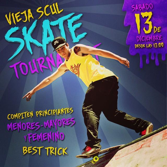 Vieja Scul Skate Tournament # 2 #skate #contest #tricks #tshirt #skateshop #skateordie #fest