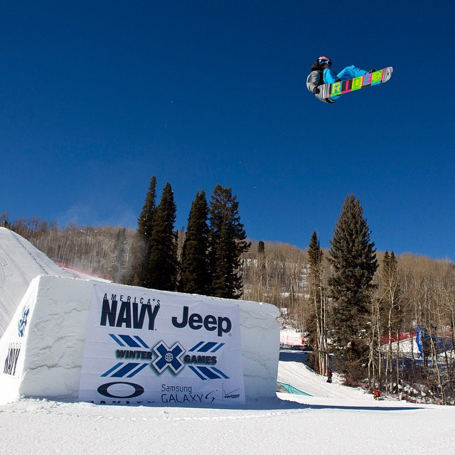 """My greatest achievement is my first #XGames Slopestyle gold medal.  To win it as a rookie was awesome.""-@sebtoots"