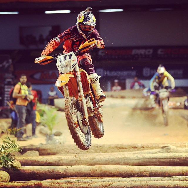 Head it up. #superenduro is back. #taddyblazusiak