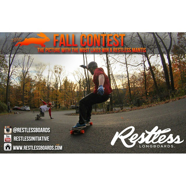 #RestlessFallContest is up on our facebook! 10 sick photos are ready to win the #restlessMantis ! Go on Facebook and like your favorite one! #restlessboards