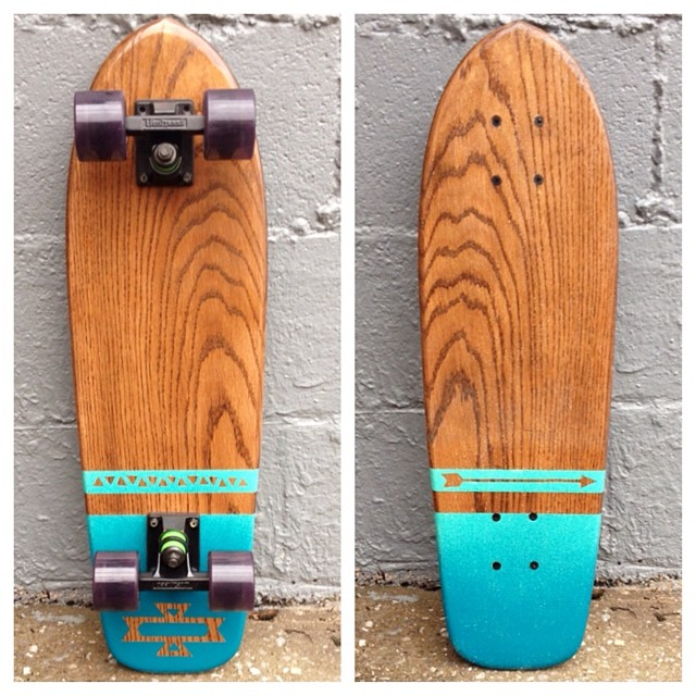 Check out this native inspired cruiser.