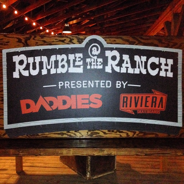 Racing at @rumbleattheranch finished up just in time for the sun to go down last night! Racing was tight and the party was great. This was a really unique event and everyone will be able to watch it go down next month online! Stoked for next year!...