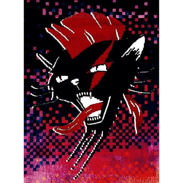 Friday ⚡️⚡️⚡️⚡️⚡️ #cat #cool #red #pixel #punk #pixelart #pixelate #8bits #design #fashion #urbanroach #urbanlife