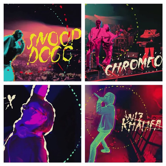 Jan. 23 – Snoop Jan. 24 – Chromeo Jan. 24 – Skrillex Jan. 25 – Wiz  #XGames Aspen is gonna be off the chain!