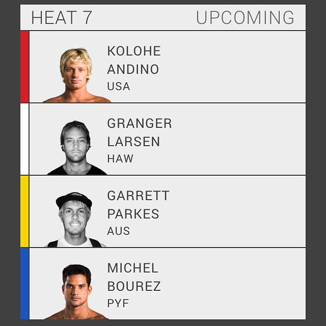 Pray for Granger today. Round 4 Heat 7. This is it!  Go Big @grangerlarsen @bbrsurf #grangerlarsen #bbr #buccaneerboardriders #teamrider #vanstripplecrownofsurfing #sunsetbeach #gobig