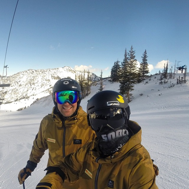 What a day skiing at Alta // @snocru_ed & @snocru // #goproapp @gopro @armadaskis #rubberducky