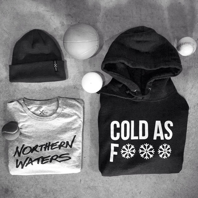 What do cold water surfers need? Here you go. #coldwatersurf #balls #tee #hoodie #coldasf #beanie