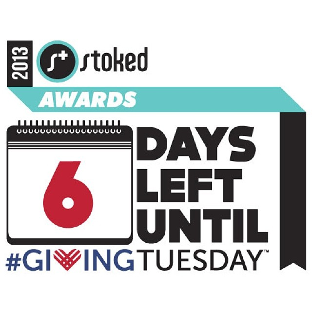 We're in high gear right now getting ready for the biggest night of the year for us. Show your support on #givingtuesday. The #stokedawards are right around corner! #DonateDec3
