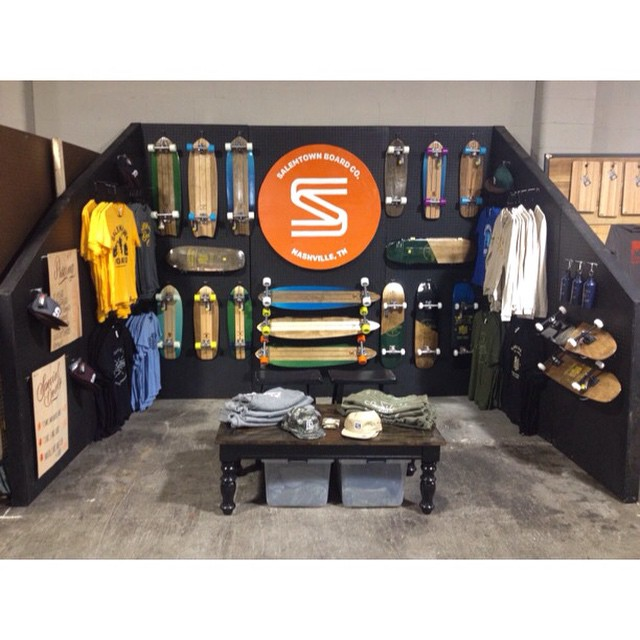 We are all set up at @porterflea! Come on out and say hi. We will be here all day. All our products are discounted. #handmade #skateboards #nashville #porterflea