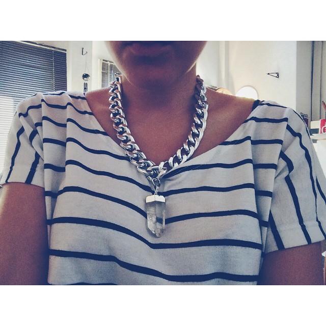 Divino el collar de @lavagueacc