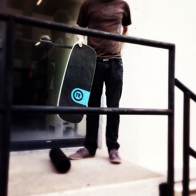 We are getting ready for a little urban balance action, what are your plans for the weekend? #balanceboard #weekend #balance