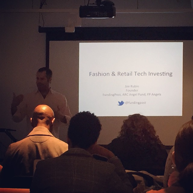 GREAT presentation on #fashion #retail #tech investing by @fundingpost @osfasion #osfdc #waveborn