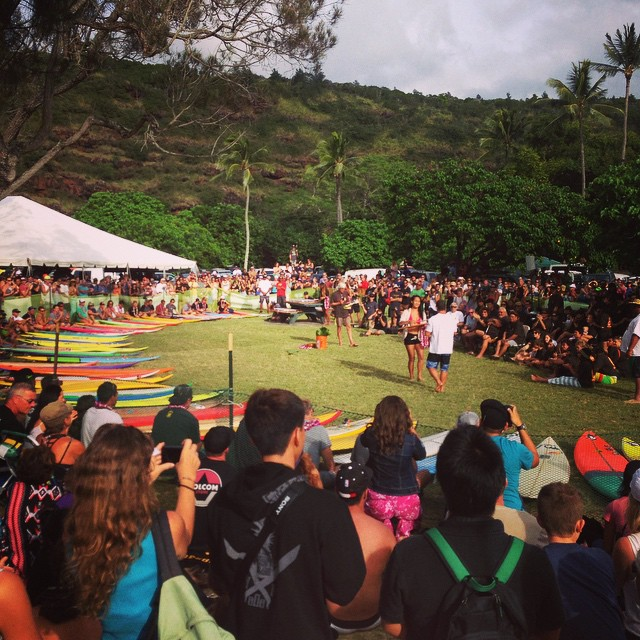"The opening ceremony of the 30th Annual Quiksilver in Memory of Eddie Aikau—known by most as the simply ""The Eddie""—had plenty of BIG moments...but one of our favorites was seeing our pal Dave Wassel, (big wave hellman, and North Shore lifeguard..."