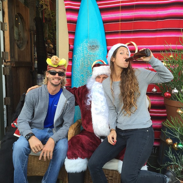 Come play with #kindafancy and #santaclaus on Noriega at the #churchofsurf #christmas #bikinis
