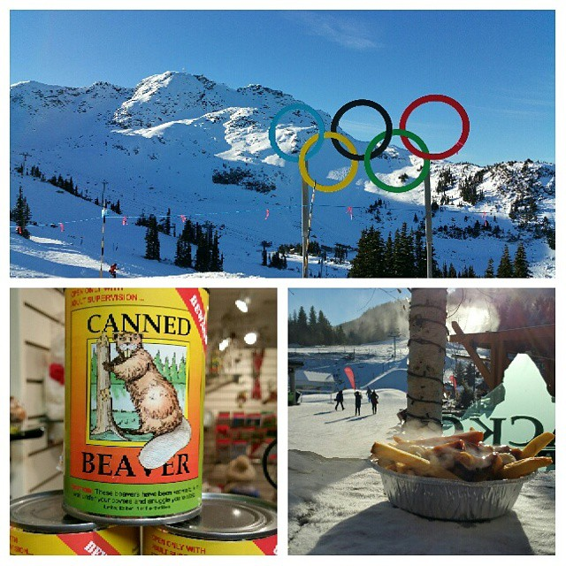 Not a bad week in Whistler...America's Hat does it right!! #snowboarding #whistler #poutine #cannedbeaver #americashat #shesaustrailian