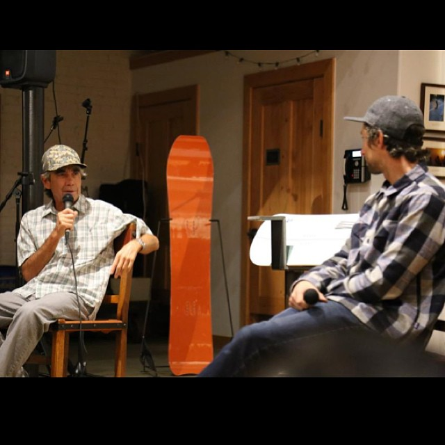 Awesome to hear about @gerrylopezsurfboards and @yoderyoder epic adventures snow surfing in the @farmleague production Northern Sky. And yes, Gerry has a Minnow. #JapanPow #NetsToDecks #SnowSurf photo @patagoniasm
