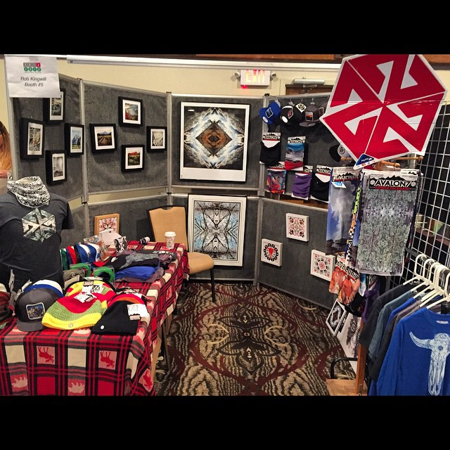 Heck of a day at the JH Christmas Bazaaaaaar! 4 hrs of sleep after making hats and getting ready last night, then up at 4:30am to set up all this glorious AV7 product and photos in da booth. Thanks to everyone who came out and bought the world's best...