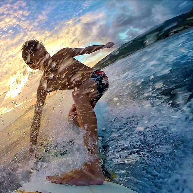 You know the feeling #LifesABeach #ThisIsMyBeach #Kameleonz #GoPro #Surf #Surfing #Weekend #SundayFunday Great pic by @ryanwilcox_  Kameleonz.com