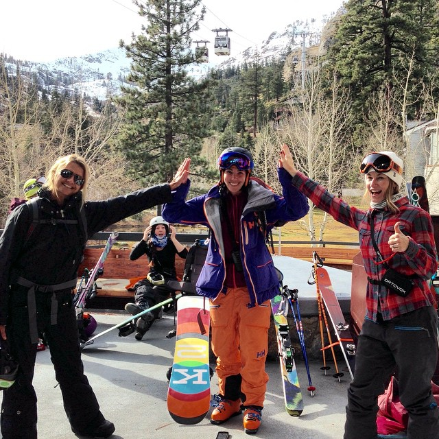 Having fun with the ladies of @safeasclinics! #safeasclinics #ladieswhostaysafe @squawalpine