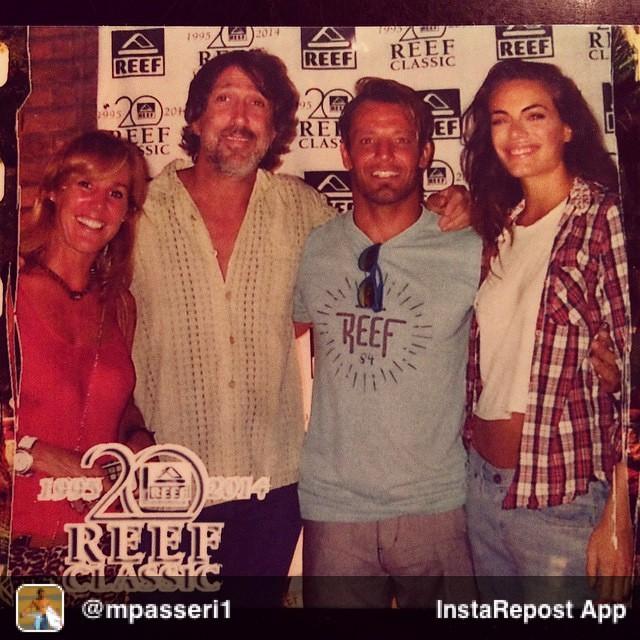 Repost from @mpasseri1 via @igrepost_app, it's free! Use the @igrepost_app to save, repost Instagram pics and videos, Con Un montón de amigos Festejamos los 20 años del #ReefClassic!!! Acá va la Primera secuencia de varias #Polaroid @reefargentina