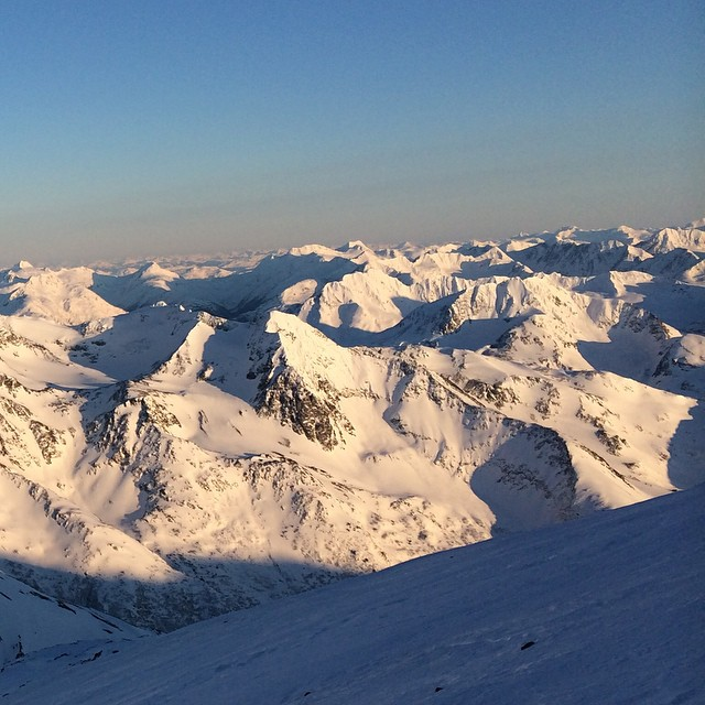 A sea of mountains, Chugach Range, #Alaska  #MountainCrushMonday