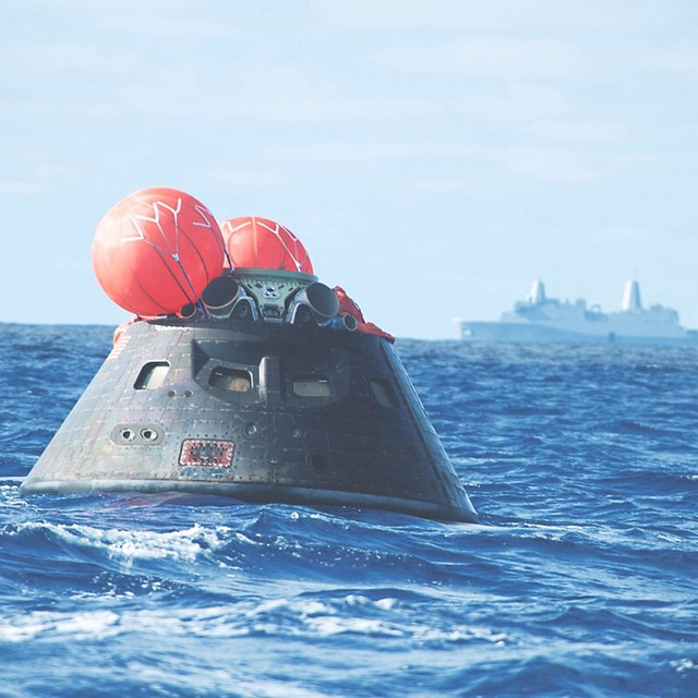 Orion Re-entry Vehicle PC @nasa #designitbetter #lovematuse