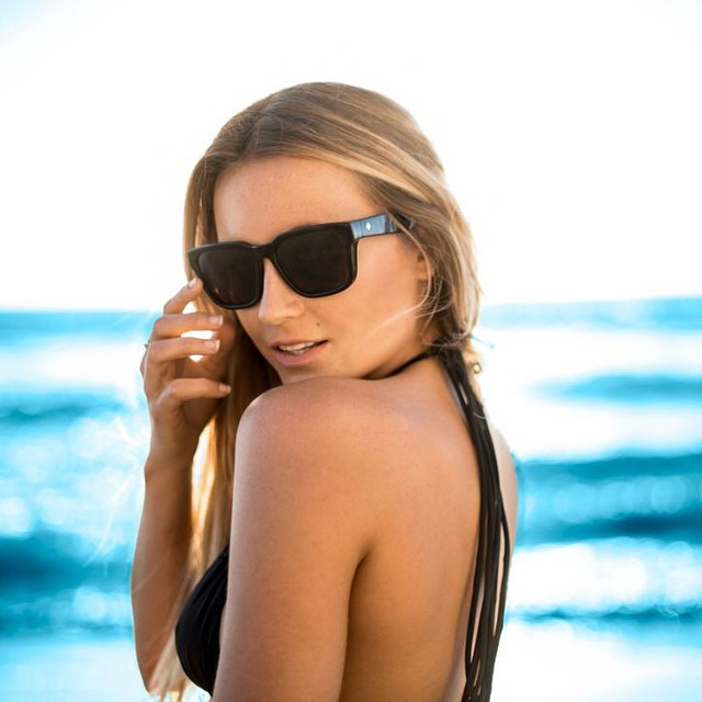 @alanarblanchard in the Bowie with #HappyLens? We just blue your mind.  Learn more about the only Lens with Benefits at www.spyoptic.com/happy  #SEEHAPPY