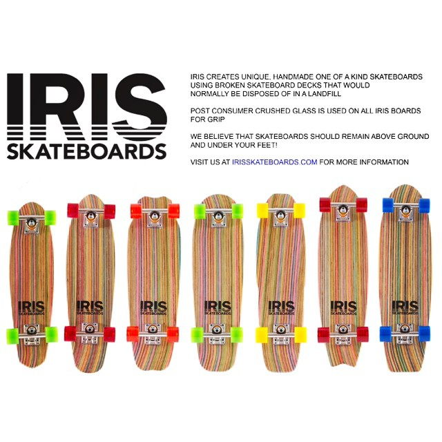 It's the Holiday season again! Stoke out the skateboarder in your life with an Iris skateboard!  irisskateboards.com  #irisskateboards #recycledskateboards