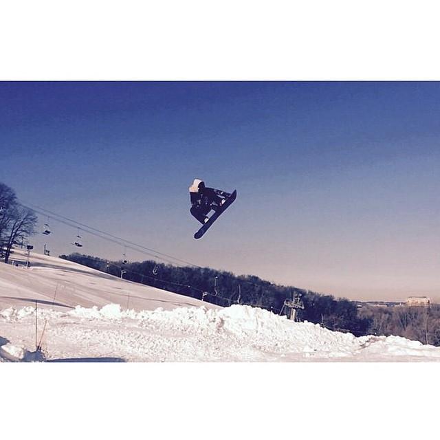 Team rider from #Minnesota @adam.vick❄️#FrostyHeadwear #Snowboarding