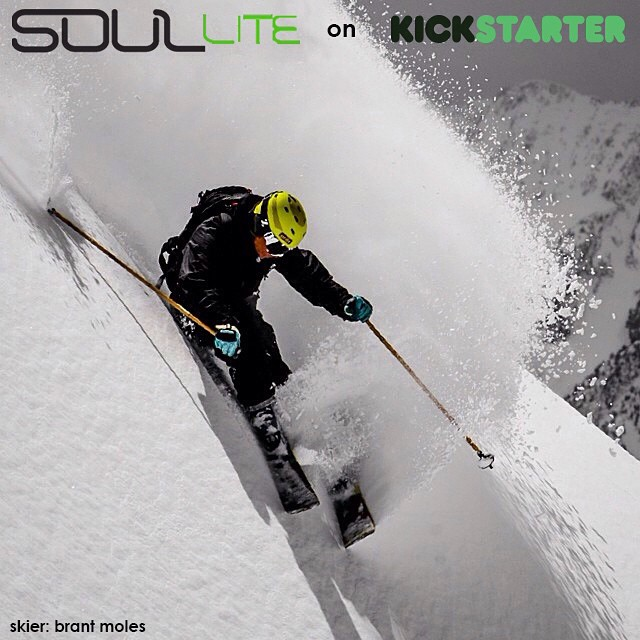 With 3 days left in our @Kickstarter campaign, don't miss your chance to grasp the bounty of the #SoulLiteProject | Fully convertible ski + hiking poles made from recycled and renewable materials -> link in profile