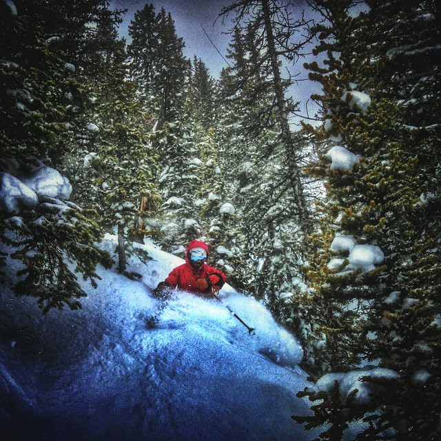 @scottyvermerris ripping through the trees at @jacksonhole. #jhdreaming #Astis